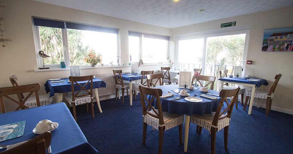 Dining Room at Panorama Guest House, Newlyn