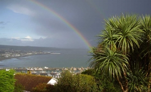 Breakfast with a view at Panorama Guest House, Newlyn near Penzance