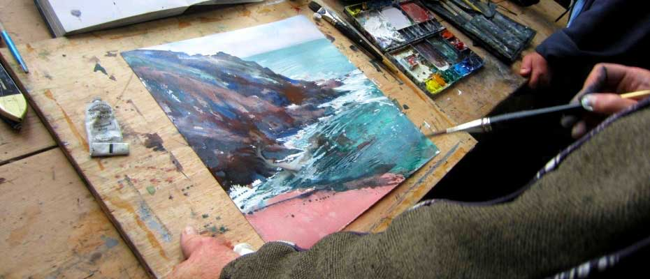 Newlyn School of Art - courses near Panorama Guest House
