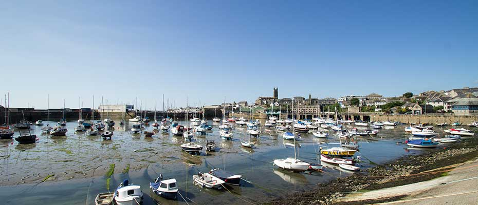 Penzance harbour, Panorama Guest House, Newlyn