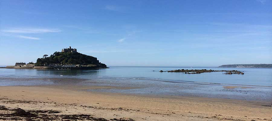 St Michael's Mount, Panorama Guest House, Newlyn